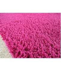 Hochflor Kuschel Shaggy Langflor Teppich Pink