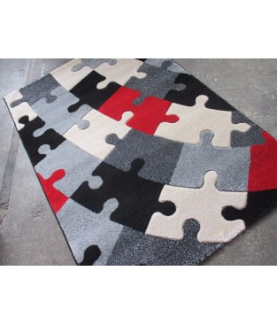 Kinder Spiel Teppich Puzzle Bunt 120 x 170 cm