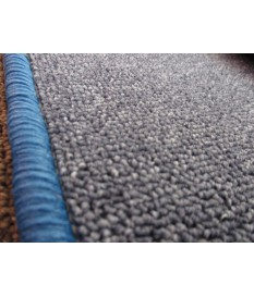 Schlingen Teppich Marco blau verschiedene Abmessungen
