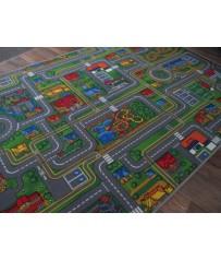Kinder Spiel Teppich Street Life