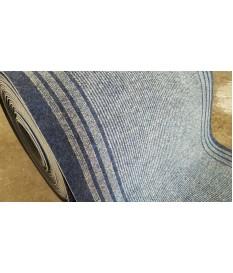 Teppich Läufer Calypso blau grau 67 x 400 cm