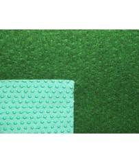 Kunstrasenteppich Comfort grün 133cm (4,95 €/m²) mit Noppen