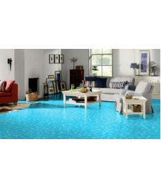 PVC CV Bodenbelag (7,99 €/m²) Swimming Pool Premium blau 400 cm Boden