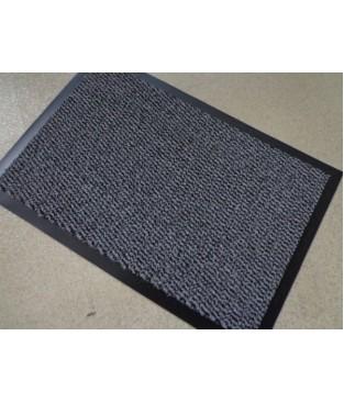 Sauberlauf Schmutzfang Fußmatte grau schwarz 90 x 150 cm