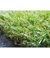 Hochflor Kunstrasenteppich Ventura grün 200 cm (15 €/m²) Rasen Hochflor