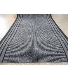 Teppich Läufer Calypso anthrazit 67 x 300 cm