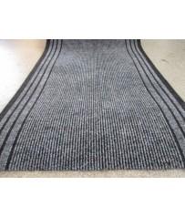 Teppich Läufer Calypso anthrazit 67 x 200 cm