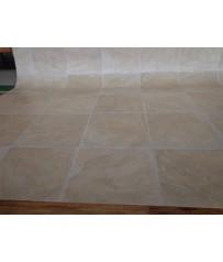 PVC CV Bodenbelag (4,50 €/m²) Fliese beige Natur 200 cm Boden