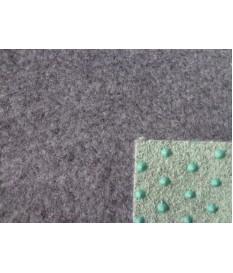 Kunstrasenteppich grau 400 cm (3,79 €/m²) mit Noppen