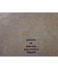 PVC CV Bodenbelag (13,50 €/m²) Joka Andante Design 16 Natalia beige 400 cm Boden
