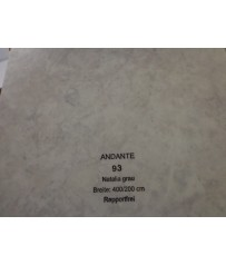 PVC CV Bodenbelag (13,50 €/m²) Joka Andante Design 93 Natalia grau 400 cm Boden