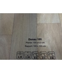 PVC CV Bodenbelag (12,90 €/m²) Joka Living Donau Design 160 Holz Dekor 200 cm Boden
