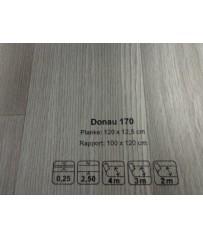 PVC CV Bodenbelag (12,90 €/m²) Joka Living Donau Design 170 Holz Dekor 300 cm