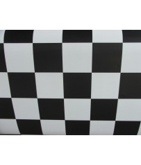 PVC CV Bodenbelag (4,50 €/m²) Schachbrett 200 cm Boden