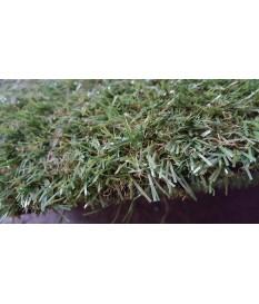 Hochflor Kunstrasenteppich Field grün 200 cm (9,90 €/m²) Rasen Hochflor