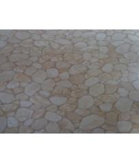 PVC CV Bodenbelag (19 €/m²) Steine Kiesel Optik 400 cm Boden
