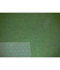 Kunstrasenteppich grün 133cm (3,79 €/m²) mit Noppen