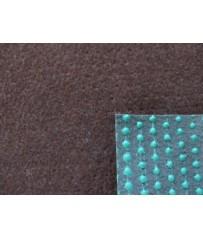 Kunstrasenteppich braun 200 cm (3,79 €/m²) mit Noppen