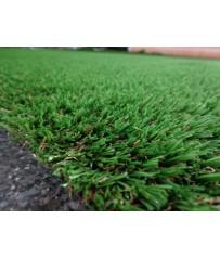 Luxus Kunstrasenteppich grün 200 cm (49 €/m²) Rasen Hochflor