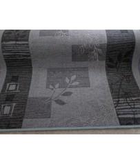 Teppich Läufer Agadir anthrazit grau 80 cm breite
