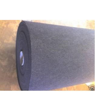 Nadelfilz Bodenbelag in schwarz 200 cm Breite (2,29 €/m²)