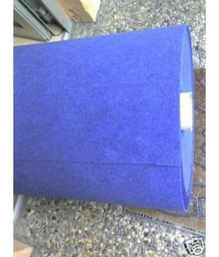 Nadelfilz Bodenbelag (2,29 €/m²) Teppichboden in blau 200 cm Breite B1