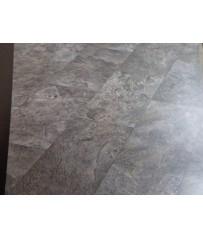PVC CV Bodenbelag (19 €/m²) Fliese dunkel grau 400 cm Boden