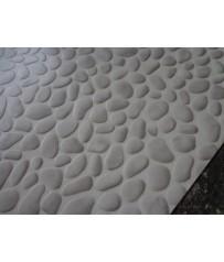 PVC CV Bodenbelag (7,99 €/m²) Stone Steine grau 200 cm Boden