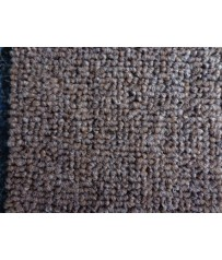 Teppichboden (8€/m²) Schlinge Rubi dunkelbraun *45* Auslegware 400 cm
