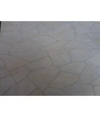 PVC CV Bodenbelag (21 €/m²) Bruchstein Optik hell 400 cm Boden